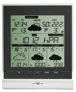 funk thermometer wetterstation im test. Black Bedroom Furniture Sets. Home Design Ideas