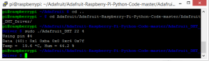 DHT22 am Raspberry Pi