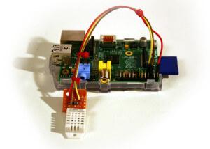 Klimalogger mit einem Raspberry Pi
