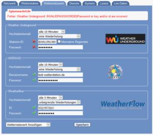 Meteobridge Wetternetzwerke