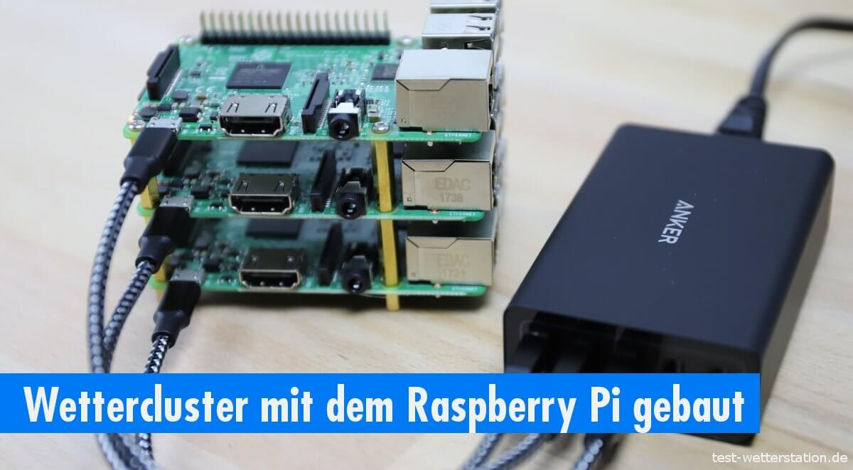 Howto Cluster Computer Aus Drei Raspberry Pi Boards