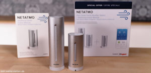 Netatmo Wetterstation: Basistation und Aussensensor