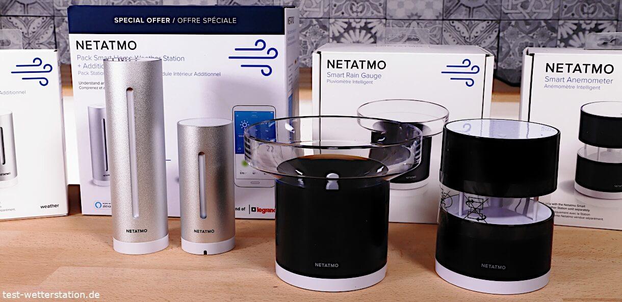 Netatmo Wetterstation - alle Sensoren auf einen Blick